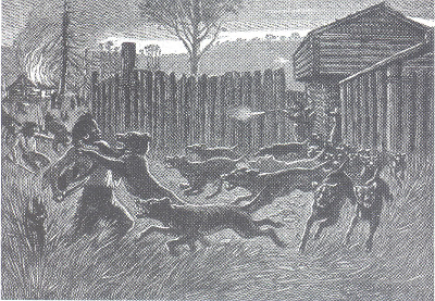 Attack on Fort Nashborough, 1781