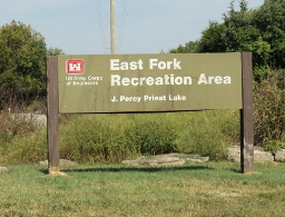 Entrance To East Fork Recreation area