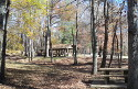 David Crockett State Park has plenty of picnic shelters and tables.