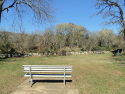 Hope Springs Park has benches and picnic tables