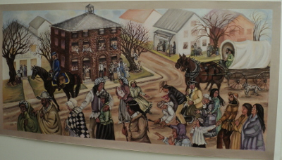 Trail of Tears In Lawrenceburg, TN By Bernice Davidson