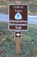 Trailhead Entrance Sign