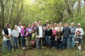 Old Jefferson Trail of Tears tour group, 10-13-2012.