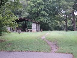 Picnic Shelter At East Fork Recreation area