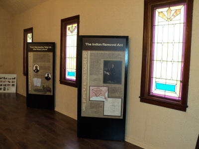 Interpretive Center Exhibits