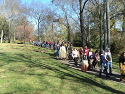Pulaski Trail of Tears Memorial Walk, 11/10/2012.