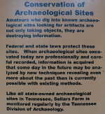 Conservation of Archaeological Sites