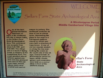 Welcome to Sellars Farm State Archaeological Area