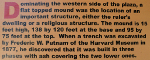 A description of the Sellars Farm platform mound.
