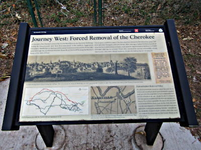 Trail of Tears Interpretive Panel